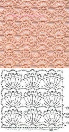 Watch This Video Beauteous Finished Make Crochet Look Like Knitting (the Waistcoat Stitch) Ideas. Amazing Make Crochet Look Like Knitting (the Waistcoat Stitch) Ideas. Crochet Motifs, Crochet Borders, Crochet Diagram, Crochet Stitches Patterns, Crochet Chart, Love Crochet, Crochet Designs, Easy Crochet, Crochet Lace
