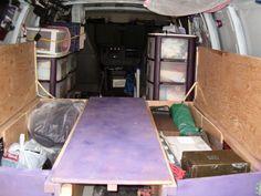 Couple in a van