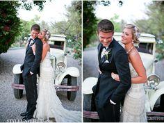 Great Gatsby Wedding Inspiration / Amore Wedding Photography / via StyleUnveiled.com