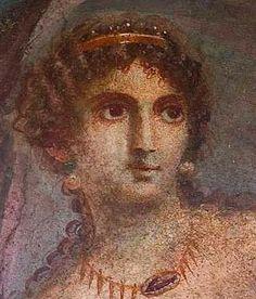 Roman fresco, Pompeii, Aphrodite, after a Greek painting