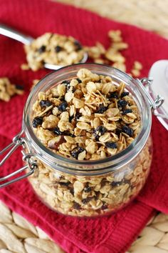 Homemade Granola ~ with instructions for the oven or microwave…