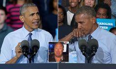 Barack Obama mocks conspiracy theorist Alex Jones who called him a 'demon'   Daily Mail Online