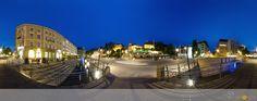 Panorama vom La Spezia Platz in Bayreuth