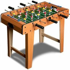 Football Soccer Table Game Large Kids Sports Leisure Toys Brown Stable Stand for sale online Play Table, Table Games, Cafe Bar, Table Football, Football Soccer, Sale Of The Day, Baby Foot, Indoor Play, Furniture