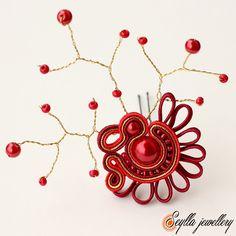 Sutasz soutache Seylla jewellery kokowka #soutache