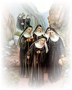 Santa Rita peregrina gracias a la ayuda del Señor
