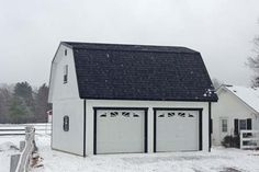 Garage Builders and Designers from the Amish - Free Garage with Apartment Plans