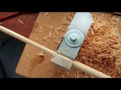 Dowel Cutting - Rounder Plane - How to make - YouTube