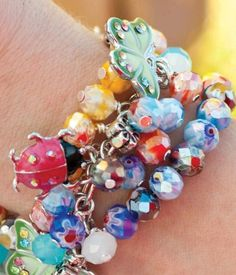 Love this #butterfly bracelet! #CreativityMadeSimple #cre8simple