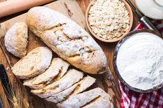 Ψωμί Βρώμης (με β-γλυκάνες) Fast Metabolism Diet, Metabolic Diet, Ketogenic Diet, Fiber Foods, Balanced Diet, Easy Weight Loss, Great Recipes, Dessert Recipes, Desserts