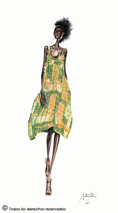 Pimenta no teu...é refresco!: As Ilustrações Fashionistas de Arturo Elena