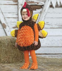 baby turkey costume. Would be great with dad as hunter u0026 mom as chef u0026  sc 1 st  Pinterest & 11 best chicken little images on Pinterest | Children costumes ...