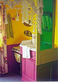 View it underwent modern bohemian home decor - Bohemian Home Style Bohemian Room, Bohemian Design, Modern Bohemian, Bohemian Decor, Gypsy Home, Boho Dekor, Gypsy Living, Gypsy Wagon, Gypsy Caravan