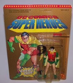 1989 ToyBiz Wonder Woman Action Figure with Chop Vintage No Box