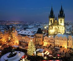In Prague, stroll historic Nerudova street in Mala Strana to view the city's Gothic and Baroque architecture, or catch an opera or ballet at the State Opera or National Theater. Visit the holiday markets in Old Town Square and Wenceslas Square.