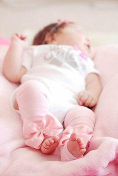 LOVE THESE!!!!! Pink Newborn Leg Warmers  Baby Pink  Leg by DarlingLittleBowShop, $13.95