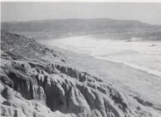 Old Photo of Torrance Beach and Palos Verdes California.