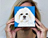 Shih Poo Custom Dog Portrait