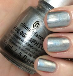 China Glaze Hologlam Holographic Collection Review, Photos, Swatches