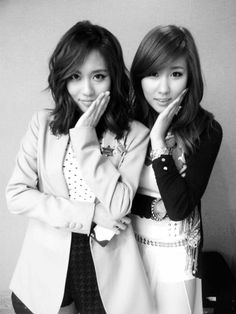 Stephanie and miss A's Fei are twins?
