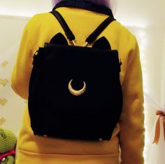 Luna/Artemis Backpack High Quality Sailor Moon Bag SP153316 - SpreePicky  - 1