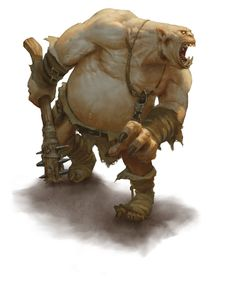 Ogre (from the D&D fifth edition Monster Manual).