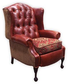 leather and fabric chair - Google Search  sc 1 st  Pinterest & godfather chair - Google Search | Don | Pinterest