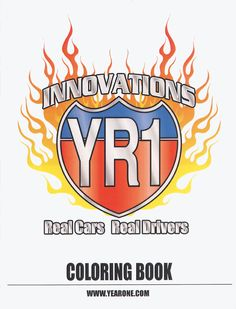 YR1 Innovations coloring book. Give the kids something to do while you work on your project!