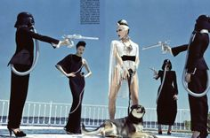 Future Couture by Steven Klein for Vogue Italia