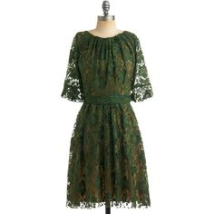 Eva Franco Green Anne'S Lace Dress (4,550 MXN) ❤ liked on Polyvore featuring dresses, green, green dresses, women, holiday dresses, special occasion dresses, women dresses, stretch dress and green lace dress