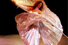 Enjoy beautiful Belly Dance while on Overnight Desert Safari Desert Safari Dubai, Sword Dance, Puppet Making, Belly Dance, Making Ideas, Wings, Beautiful, Bellydance, Feathers