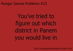 hunger games problems - Bing Images