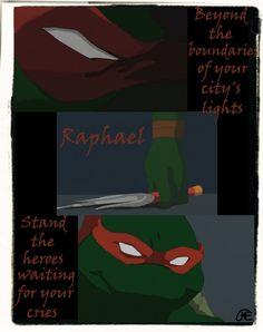 TMNT: Raphael Citizen Soldier by CodenameEternity.deviantart.com on @deviantART