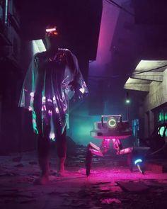 Cyberpunk Girl, Arte Cyberpunk, Cyberpunk Character, Cyberpunk Fashion, Steampunk Fashion, Gothic Fashion, Cyberpunk Aesthetic, Neon Aesthetic, Aesthetic Videos