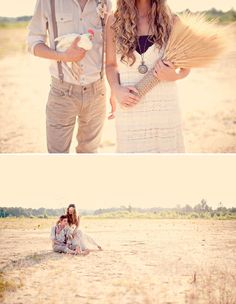 obsessed with this wheat bouquet tied with rope #unique #wedding