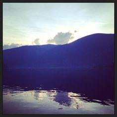 Kootenay Lake at days end.