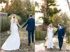 """Charlotte-Balbier-wedding-dress-at-rustic-country-wedding"" www.annelimarinovich.com"