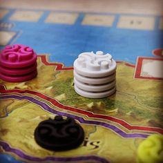 #Ethnos ist sehr einfach gestaltet aber ein sehr schönes #Brettspiel #Asmodee #brettspiel #fb #boardgame #boardgames