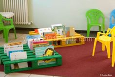 books3 600x400 Books Pallet Rack in pallet kids projects  with Rack Pallets Books