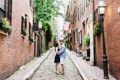 Boston Common & Beacon Hill Engagement Session | Annmarie Swift | Boston Wedding Photographer