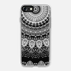 BOHO WHITE LACE by Monika Strigel - Classic Grip iPhone 7 Case