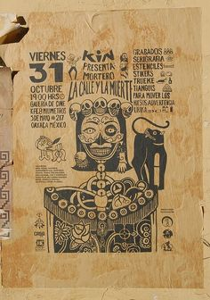 Day of the Dead vintage day of the dead celebration advertising poster, looks like frida kahlo
