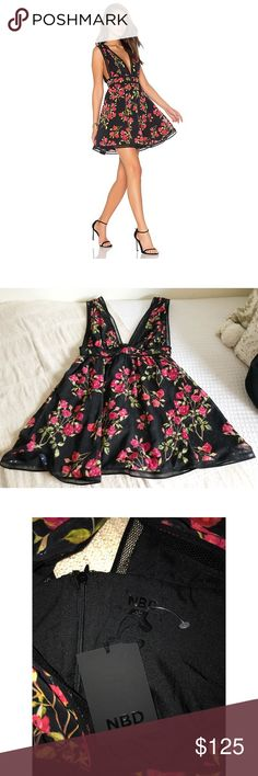 "🌹Host Pick🌹 NBD Isaac Swing Dress ❥ 32"" length ❥ 14.5"" bust  ❥ 100% polyester NBD Dresses Mini"