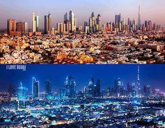 Dubai .. day and night!