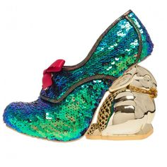 Delightfully playful Disco Bunny shoes by Irregular Choice.