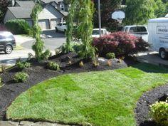 front yard garden landscape design (2)