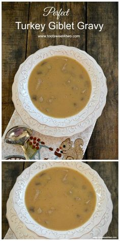 Perfect Turkey Giblet Gravy - perfect addition to your holid..