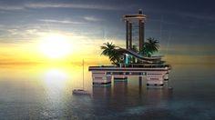 Kokomo Island, primera isla privada flotante @alvarodabril