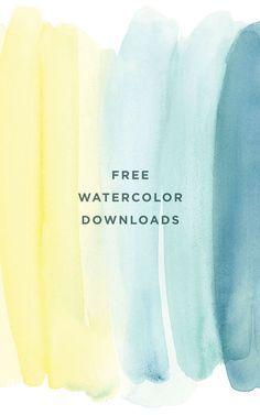 45 Ideas Wallpaper Desktop Watercolor Backgrounds Design For 2019 Web Design, Logo Design, Watercolor Backgrounds, Phone Backgrounds, Watercolor Wallpaper, Backgrounds Free, Lettering, Typography, Blogging