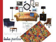 alice & olivia fashion inspired boho parlour  Bella Boho - Stylish Living